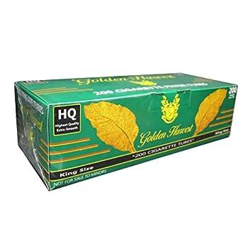 Golden Harvest Cigarette Filter Tubes - Menthol - King Size 5 Boxes/1000 Tubes