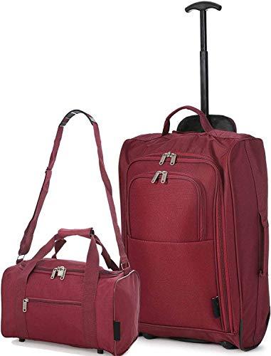 Maleta de cabina y la segunda bolsa de transporte,Red
