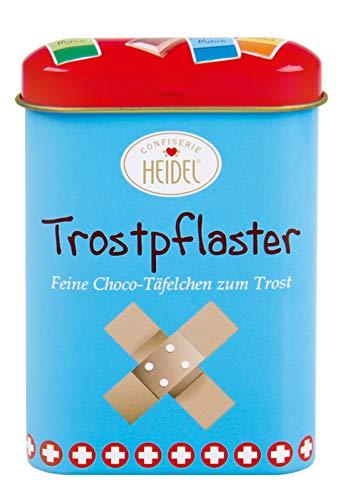 Heidel - Trostpflaster Schokoladentäfelchen - 12St/36g