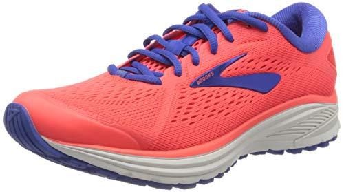 Brooks Aduro 6, Zapatilla de Correr Mujer, Coral Blue White, 38 EU