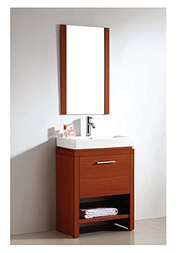 Dawn RAM190133-04 Mirror with Plywood and Melamine Sides