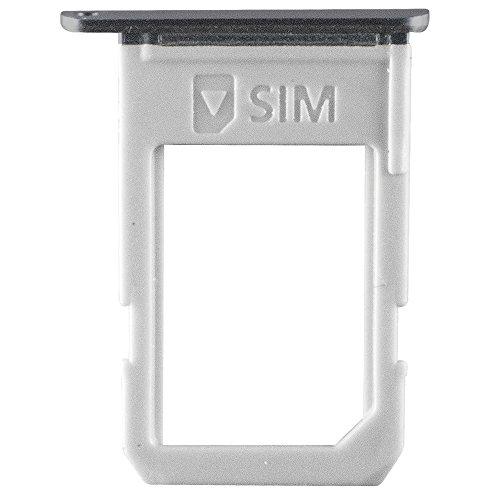 Original Samsung Simkartenhalter Black/schwarz für Samsung G928F Galaxy S6 Edge Plus (SIM Tray) - GH98-37692B