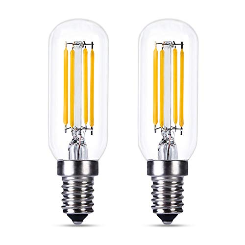 Bombilla LED E14 Regulable Luz Calida 2700K, T25, 4W Retro Edison LED...