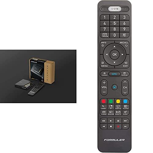 Formuler Z8 Pro 4K Multimedia-Set-Top-Box mit Android mit MyTV Online2 & Fernbedienung Z8 / Z7+ / Z7+ 5G / Zx/Zx 5G / Z Prime Ersatzfernbedienung, FOR0095