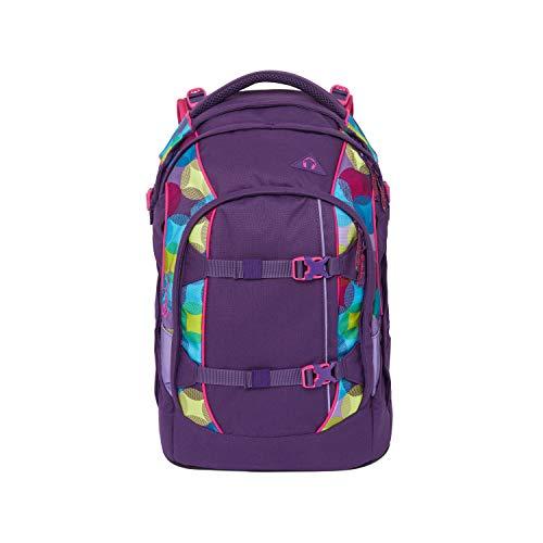 Satch pack Schulrucksack - ergonomisch, 30 Liter, Organisationstalent - Sunny Beats - Lila
