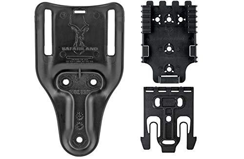 Safariland QLS Quick Locking System Kit QUICK-KIT1-2 Bundle with 2' Mid-Ride Belt Loop 6070UBL-2-2