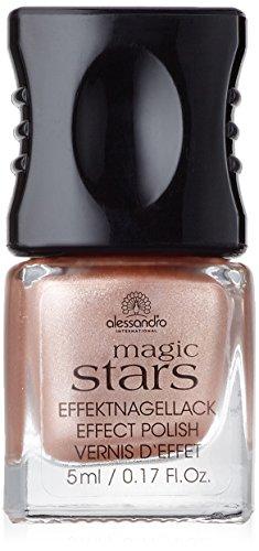alessandro Magic Stars Chrome golden rose, 1er Pack (1 x 5 ml)