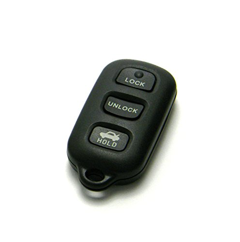 OEM Electronic 4-Button Key Fob Remote Compatible With 2002-2006 Toyota Camry (FCC ID: GQ43VT14T / P/N: 89742-AA030)