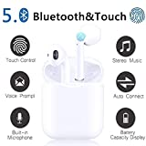 Auricolare Bluetooth Senza Fili, 24h Playtime 3D stereo HD Cuffie Wireless, Binaurale Call auto Pairing,IPX7 Impermeabile,Adatto Compatibile con iPhone/Android/Huawei/Airpods