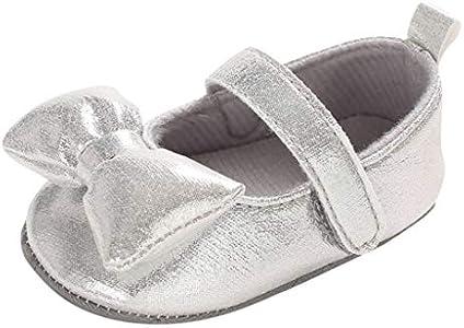 Luckycat Zapatos de bebé Calzado Deportivo de Cuero Antideslizante Inferior Suave para niños pequeños Infantiles Primeros Pasos