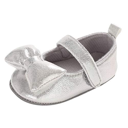 Luckycat Zapatos de bebé Calzado Deportivo de Cuero Antideslizante Inferior Suave para...