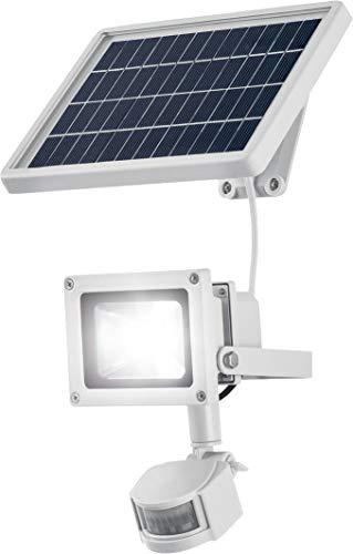 LIVARNO LUX® LED-Solarstrahler mit Bewegungsmelder, polykristallines Solarmodul, 900LM (weiß)