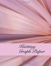 Knitting Graph Paper. 2:3 Ratio. 110 Pages. 8.5 x 11. Blank Knitting Pattern Design Notebook Journal.