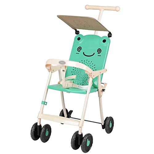 DIAOD Light Folding Kinderwagen Sommer atmungsaktiv und waschbar Kinder Vier-Wheeler Juni-3 Jahre alt