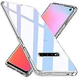 Wlife Crystal Clear Kompatibel mit Samsung Galaxy S10 Plus