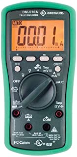 Greenlee DM-510A True RMS Professional Plant Digital Multimeter