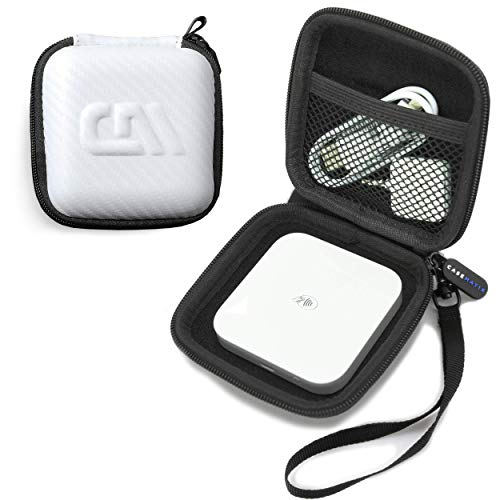 Casematix White Carry Case Fits Square Contactless and Chip Reader Portable Credit Card Scanner, Includes Case Only