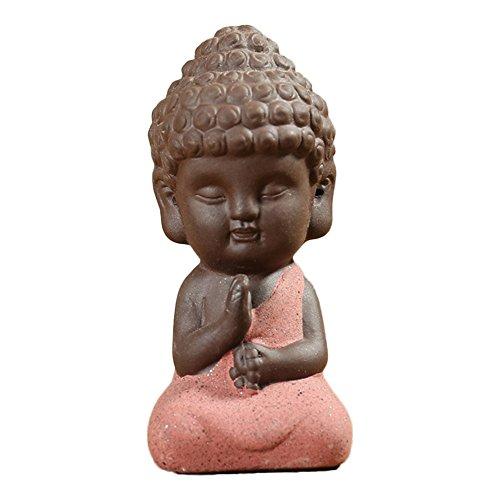 VANKER Estatuas pequeñas Estatua Buda Monk Tathagata