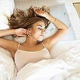 AMITRIS Almohada ajustable de espuma viscoelástica, 65 x 45 x 12 cm, 2,2 kg, con funda extraíble y lavable, mejora significativa de la calidad del sueño