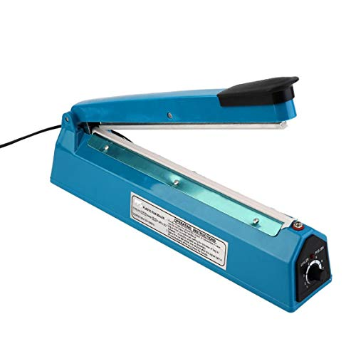 Máquina de Sellado de Bolsas de Polietileno eléctrico de plástico de 300 mm Impulse Sellador de Calor SF-300 Herramientas de máquina de facilitación Manual Johnsosen