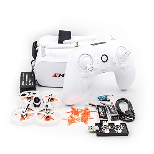 EMAX Tinyhawk 2 II RTF Kit FPV FRSKY Camera Racing Drone with Goggles...