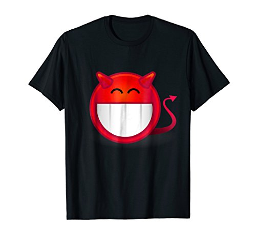 Devil Evil Smiley Face T-Shirt