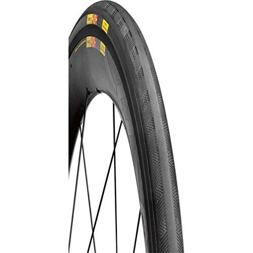 Mavic 2015 Yksion Pro Clincher Road Bike Tire (White - 700 x 25 PowerLink) by Mavic