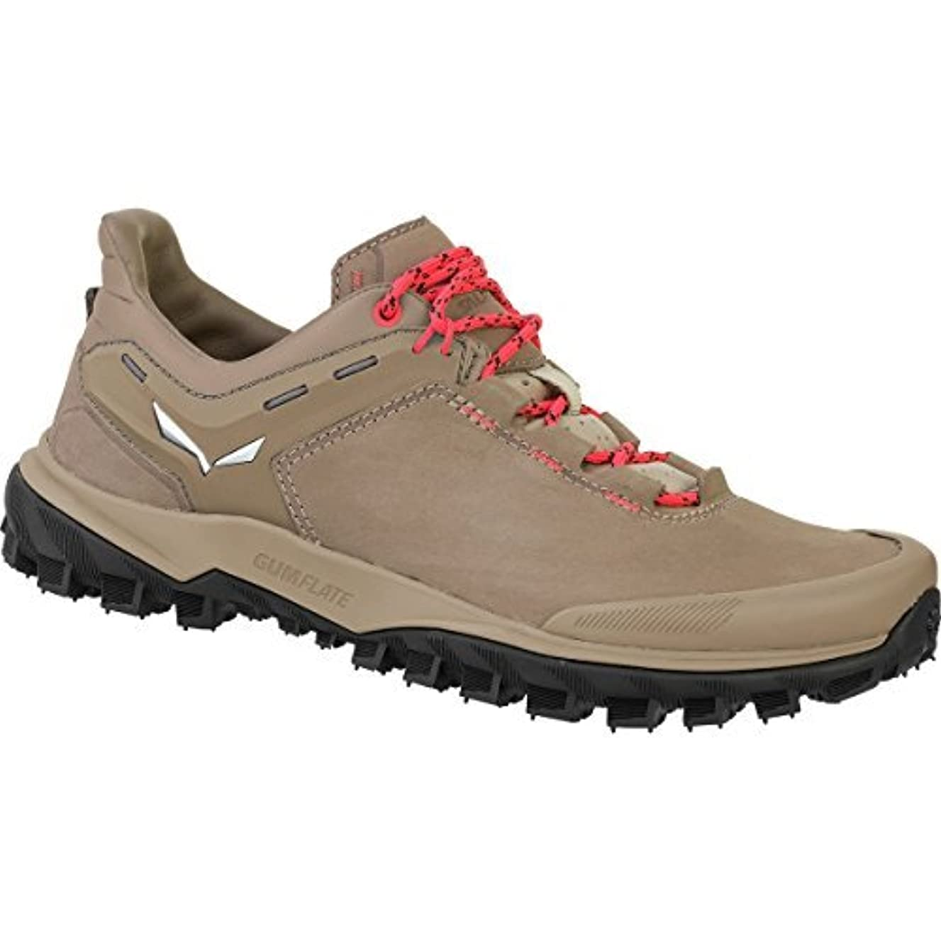 なぞらえる偏見ポルノSalewa Women's Wander Hiker Leather Hiking Shoe Other Nut/Hot Coral 8 [並行輸入品]