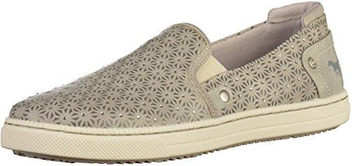 MUSTANG 5042-401 - Zapatillas para niña, color Gris, talla 33 EU