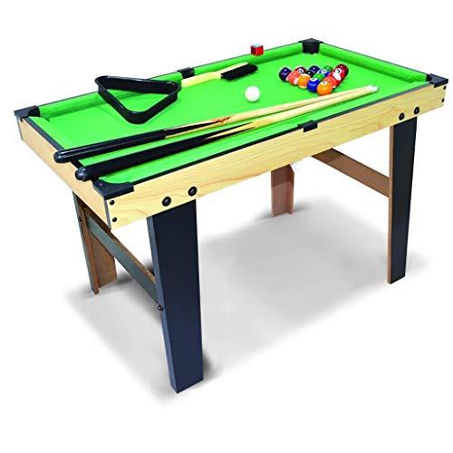 WXS Mini Billardtisch, Spiel for Kinder, Kompakter Tisch Billard Mit Kugeln Hölzgehstöckee Billardtisch Zuhause Party Nutzung