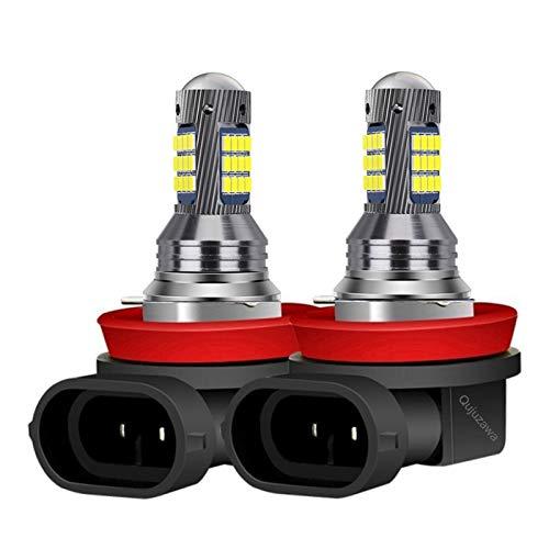 Glühbirne autolampen 2 stücke H1 H3 H11 H8 9006 HB4 881 880 H27 Highschool Kaliber 2016 LED Auto Nebelscheinwerfer Auto Anti Nebel Glühbirne Foglamps 6000k weiß led glühbirnen (Socket Type : H3)