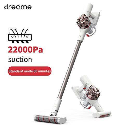 Dreame XR(V10R)コードレス掃除機、バッグのない電気ほうき、充電式ほうき5 in 1フリーダム(22,000Pa強力な取り外し可能なバッテリー、自律...
