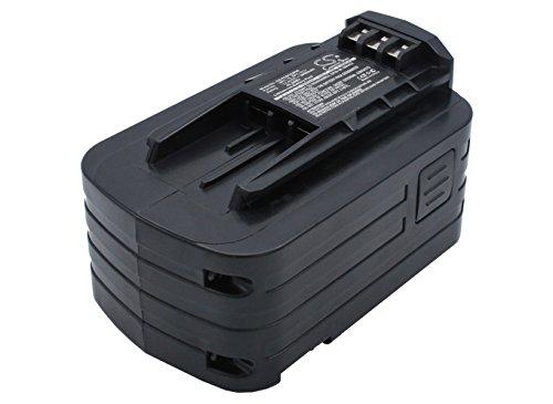 3000mAh Battery Replacement for Festool DRC18 Cordless Drill/Driver T15 Cordless Drill/Driver PSBC400 Cordless Jigsaw BPC 15 Li 498340 498341 BPC 15 494832 BPC15-3.0 Li BPS 15 (14.4V)