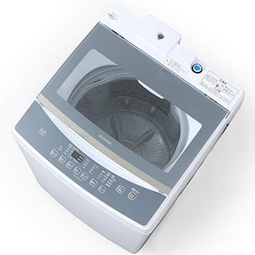 アイリスオーヤマ 全自動洗濯機 8.0kg ホワイト