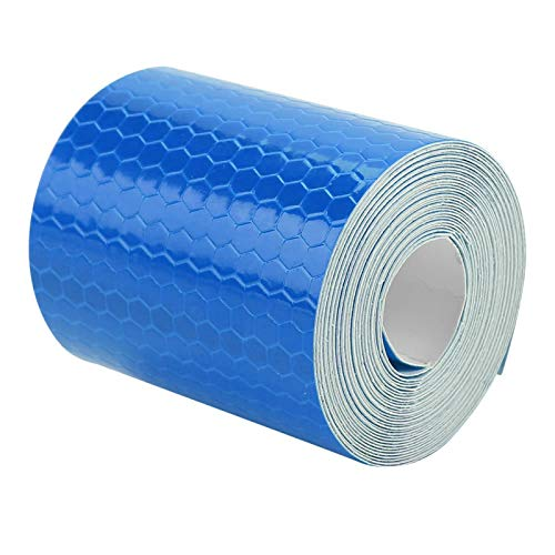 Adhesivo para bicicletas de seguridad 5cmx3m ideal para bicicletas, camiones, remolques, botes para remolques, autos, bicicletas(blue)