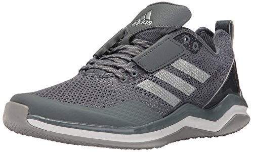 adidas Men's Speed Trainer 3, Onix/Metallic Silver/White, (9 M US)