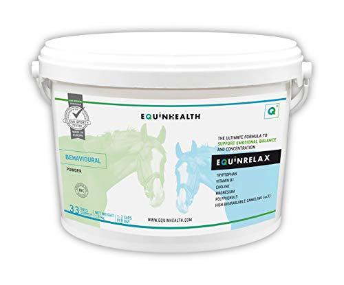 EQUINRELAX 1,5 Kg EQUINHEALTH Suplemento Premium para caballo & poni Ayuda a la concentración, relajante natural. Fórmula Premium 35 días Doping free.