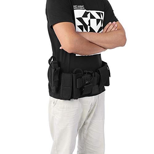 SHYEKYO Cinturón de Trabajo extraíble Cinturón de Trabajo multifunción Longitud 37.4in, para policía