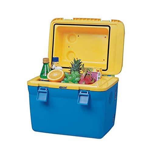 XIAOLIN Nevera De Coches 18 litros Mini Coche Refrigerador 12 / 24v Camping Portátil Congelador Camión Eléctrico Caja De Fresco para Acampar, Al Aire Libre