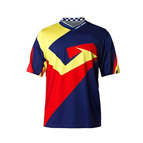 Uglyfrog MX Jersey Downhill Camiseta de manga corta funcional para motocross, BMX, Mountain Bike Offroad SJFH05