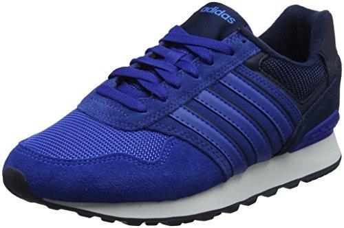 adidas Herren 10K Gymnastikschuhe, Blau (Collegiate Navy/Blue/Bright Blue Collegiate Navy/Blue/Bright Blue), 46 2/3 EU