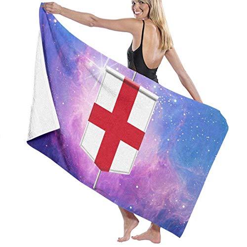asdew987 Toallas de playa de Inglaterra toallas de baño para adolescentes niñas adultos toalla de viaje toalla de 31 x 51 pulgadas