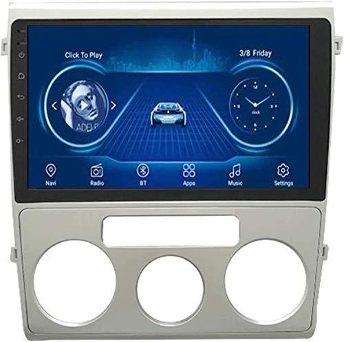 Compatible Para Volkswagen Lavida 2015 2016 SAT NAV Android 8.1 Unidad De Cabeza FM Radio Receptor Auto Audio Player MP5 Coche Estéreo 9 Pulgadas Pantalla Táctil Navegación GPS,4 core WiFi 1+16GB