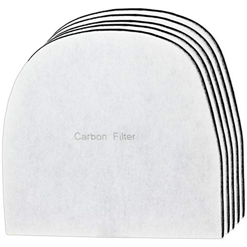 Spares2go Carbon Filter compatible with Ebac 2000 Series 2800e 2800ex 2850e Dehumidifier (Pack of 5)