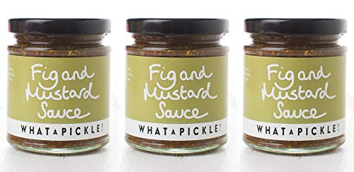 What a Pickle Fig and Mustard Sauce 3 x 180g