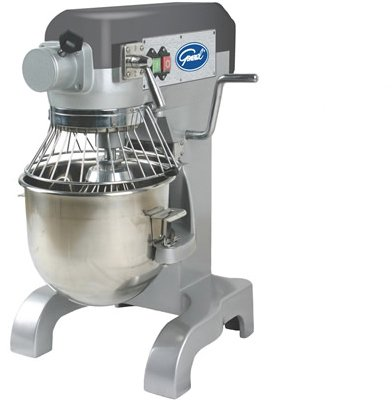 General Commercial Planetary Mixer 10 Quart 3 Speed Gear Drive