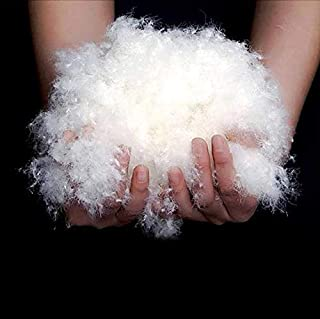 Bulk Goose Feather/Down Filling,100% Natural White Down,750+Filling Power,no Feathers-DIY,Make Your own Pillow,Comforter,Toy,Jacket,Sleepy Bags,Sofa-Sample (90% Goose Down, 200g)