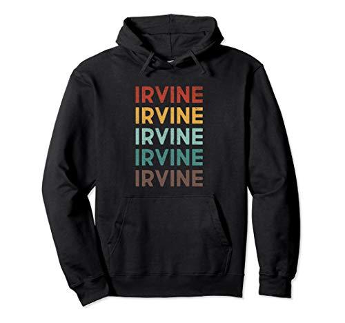 Retro Irvine California Pullover Hoodie