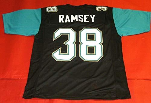 JALEN RAMSEY BLACK PRO STYLE CUSTOM STITCHED NEW FOOTBALL JERSEY MEN'S XL