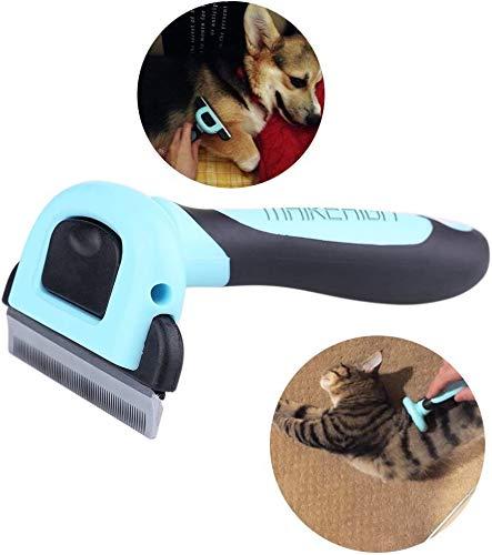 MAIKEHIGH Fellpflege-Werkzeug Für kleine, mittelgroße und große Hunde und Katzen mit kurzem oder langem Fell. Reduziert Haarausfall drastisch in nur wenigen Minuten (L)